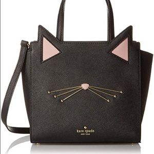 NWT Kate Spade Jazz Things Up Cat Small Hayden Bag